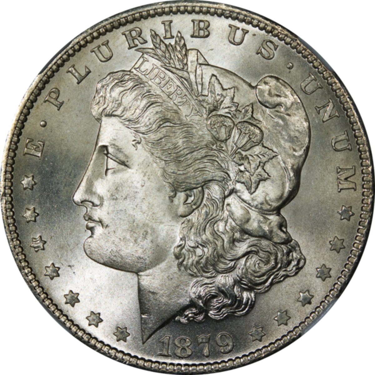 An 1879 Morgan Silver Dollar