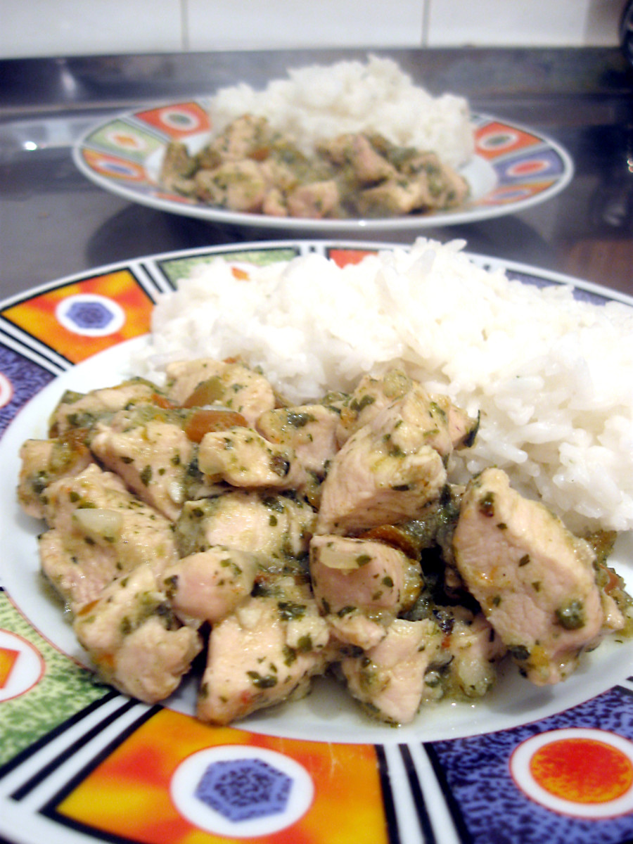 I know the last thing you want to see is anything you're allergic to so here's a safe meal that isn't in the top 8 allergens list; chicken and rice! This was my staple growing up and still is!