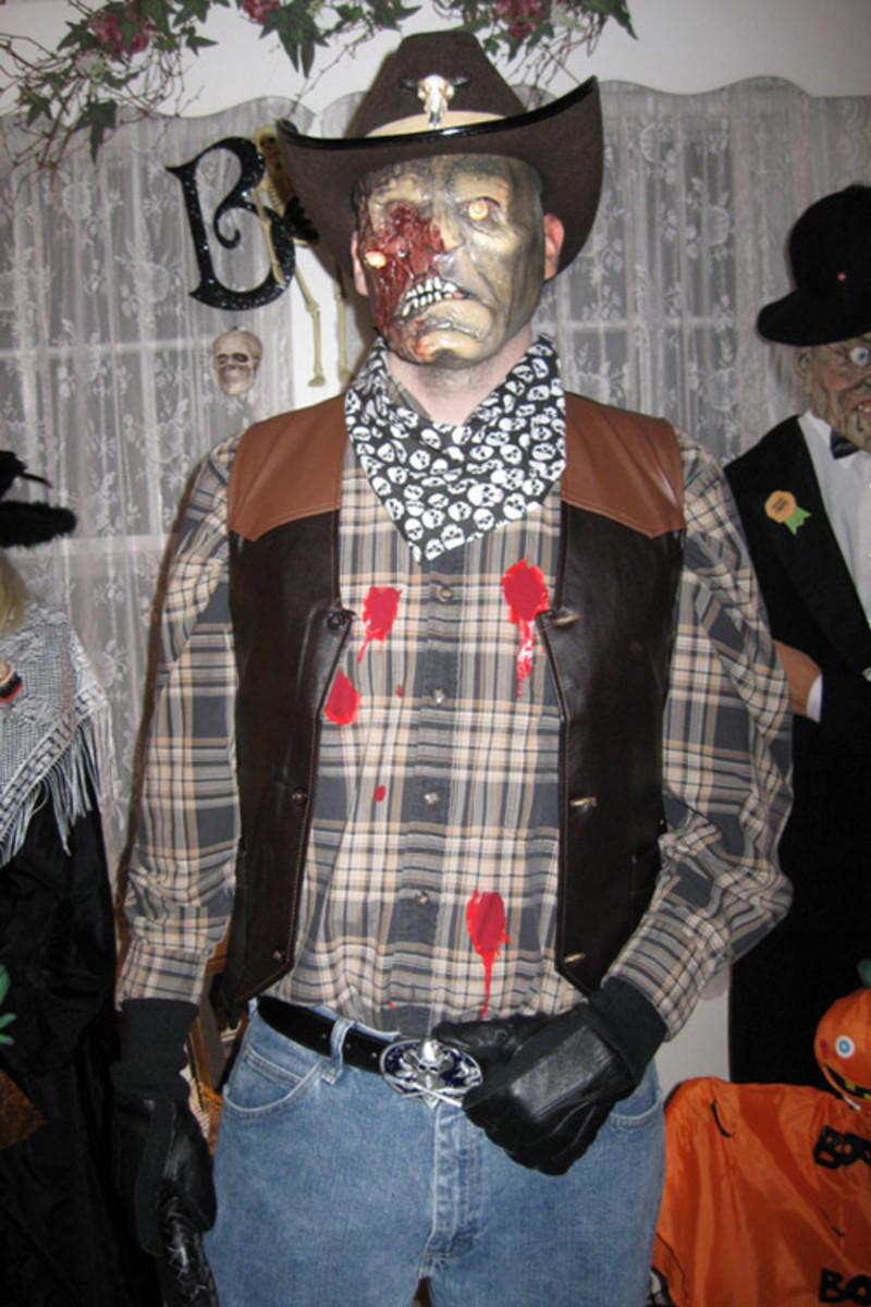 zombiecowboycostumesillustrationswallpaperscliparttattoos