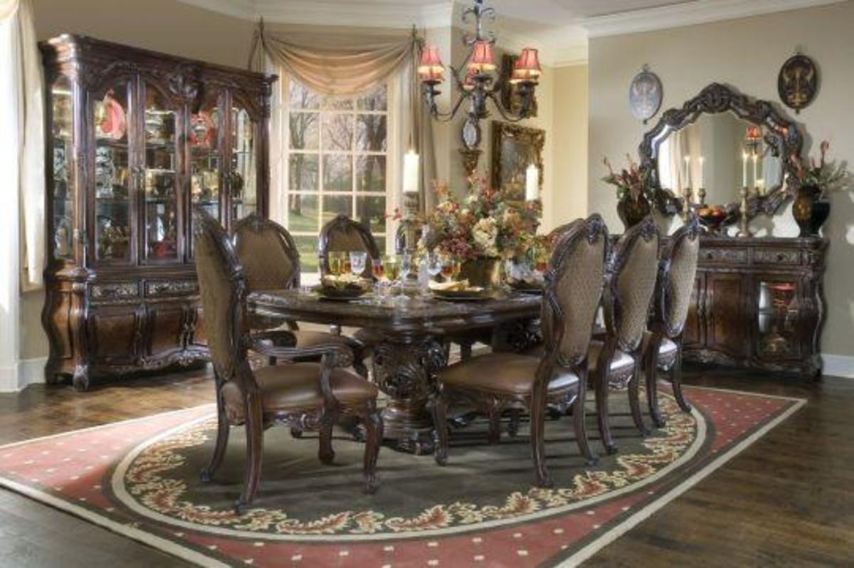 Old world dining room sets