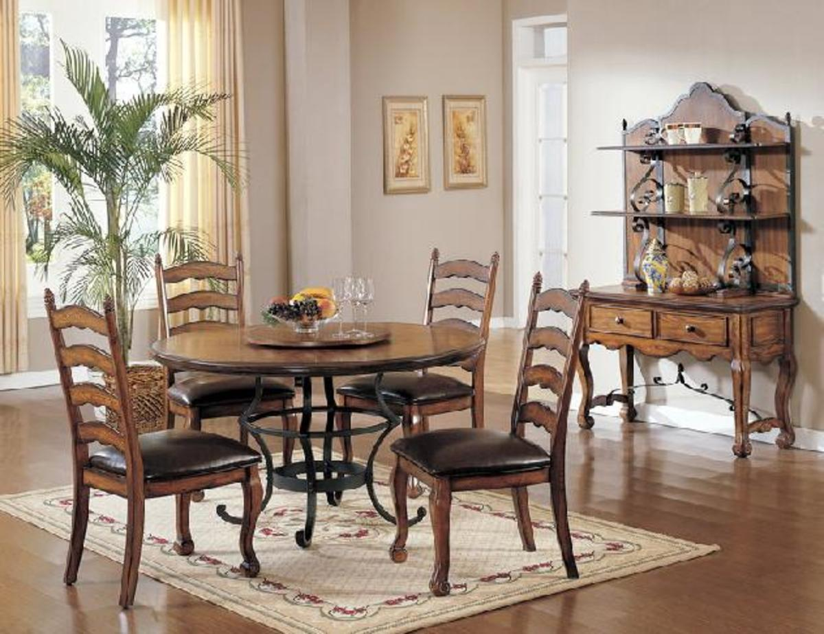 Old world dining room sets - Lavish antique dining room furniture emphasizing classic elegance and luxury ...