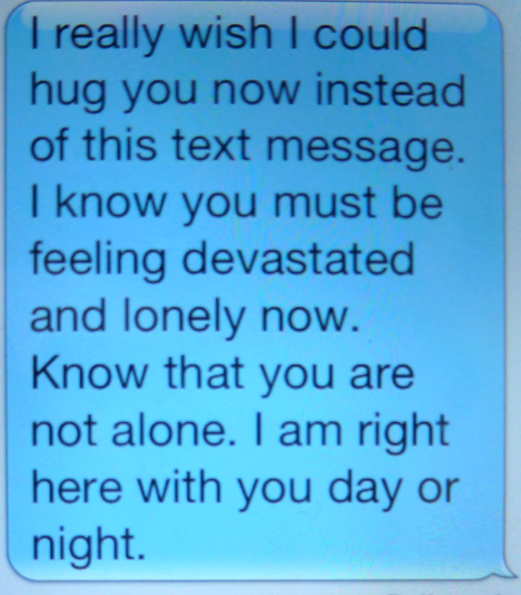 Friendship Quotes You Can Text : How to comfort a friend via text message hubpages