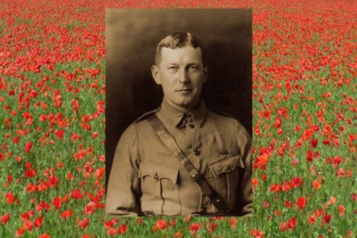 lieutenant John McCrae 1872 - 1918
