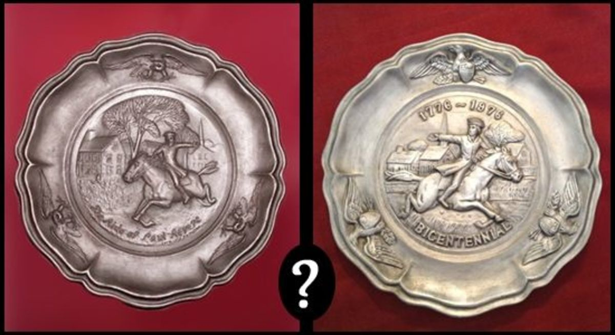 Pewter Plate vs Ceramic Plate