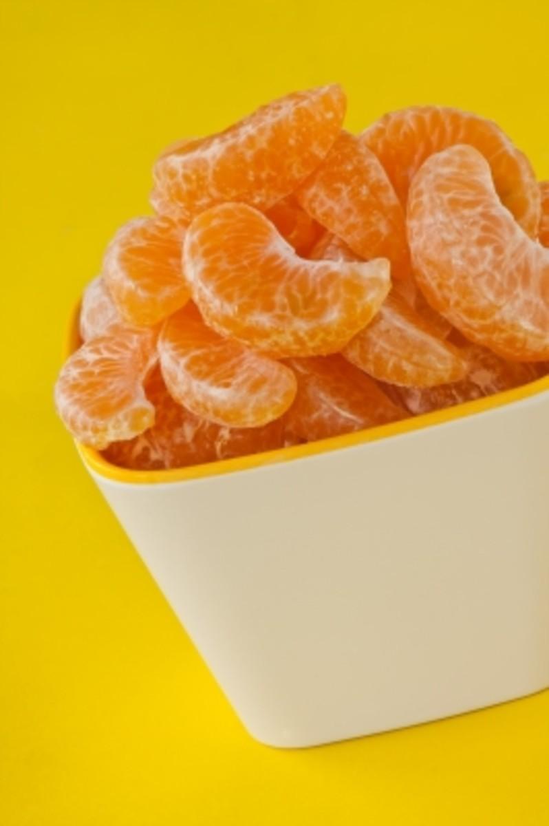 mandarin and orange essential oils are popular ingredients in lip balms.