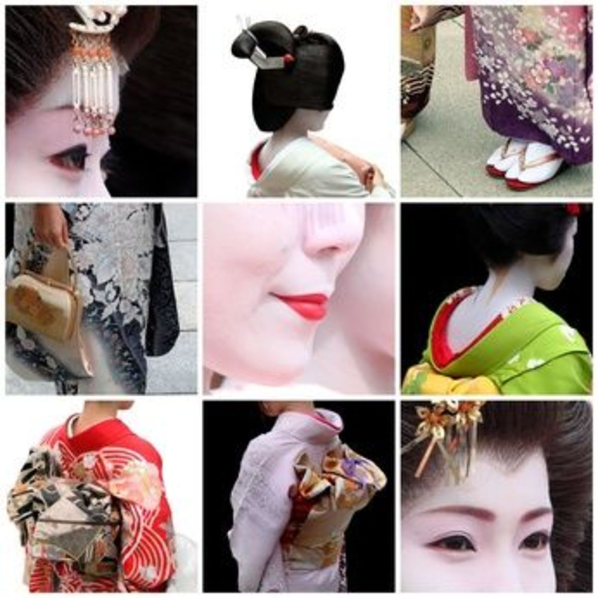 Look At All The Factors Involved In The Making Of A Geisha Costume And Look