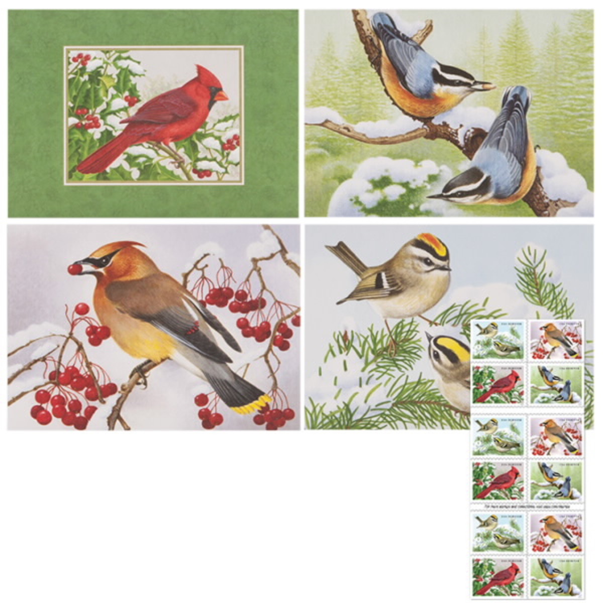 Notecards with stamps Included