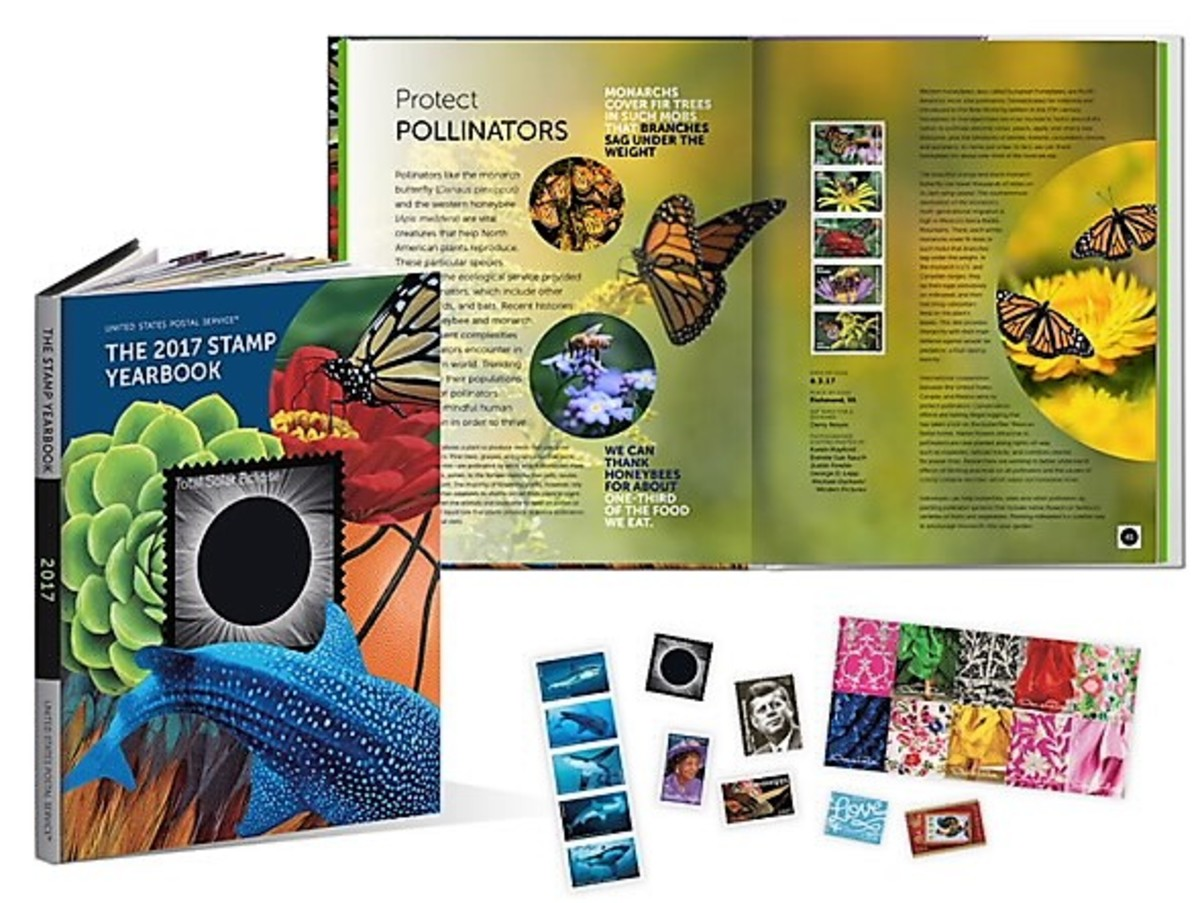 2017 US Stamp Yearbook