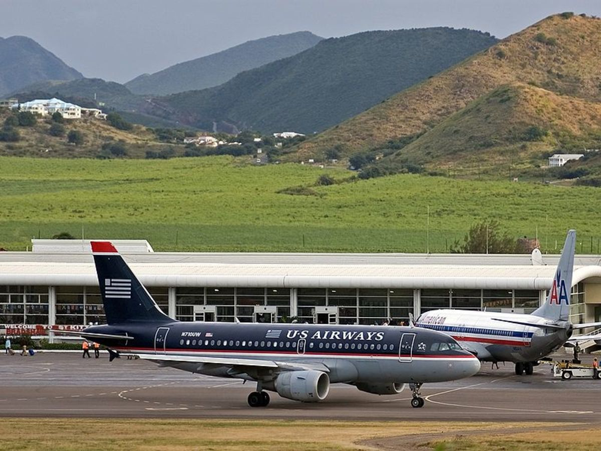 Robert Llewellyn Bradshaw Airport - St. Kitts.  Photo by Ward Callens