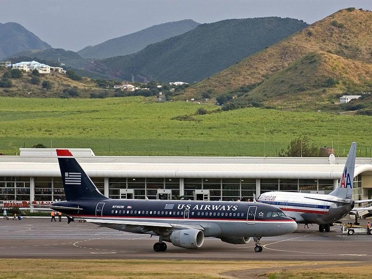 Robert Llewellyn Bradshaw Airport - St. Kitts.  Photo by Ward Callens