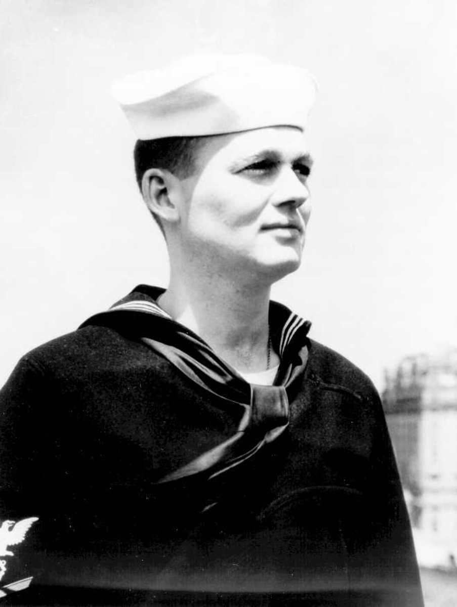 John Cullen, the Coast Guardsman who discovered the landing party.