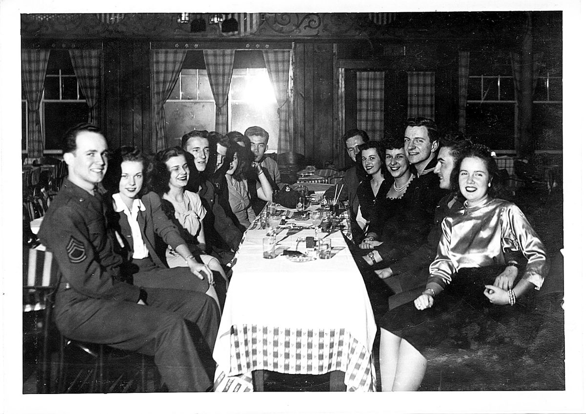 A night out at Sunrise Village circa 1945.