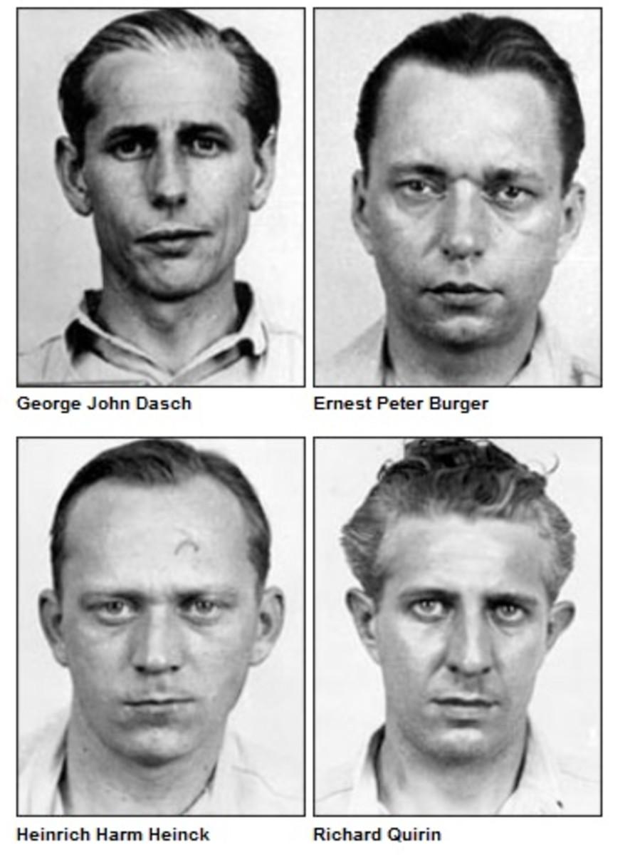 The four Amagansett  saboteurs