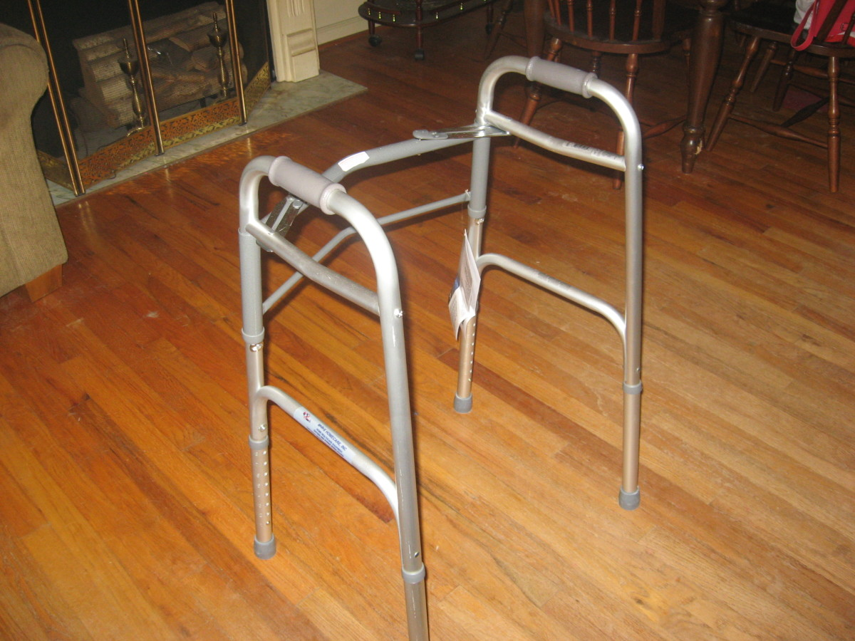 Get a walker before your surgery.
