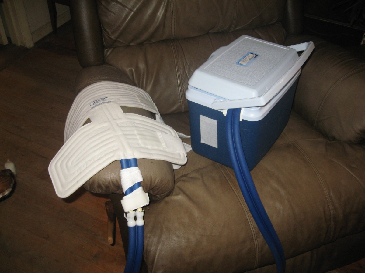 I love my cold therapy system!