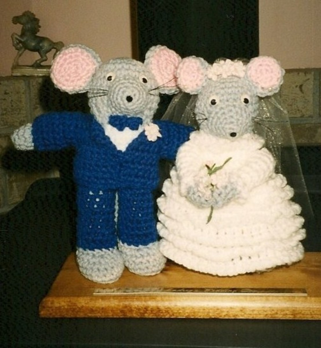 Crocheted Mice