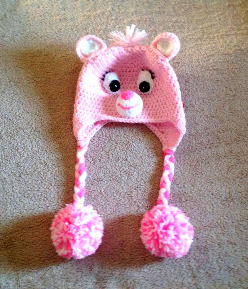 Children love wearing adorable-looking hats.