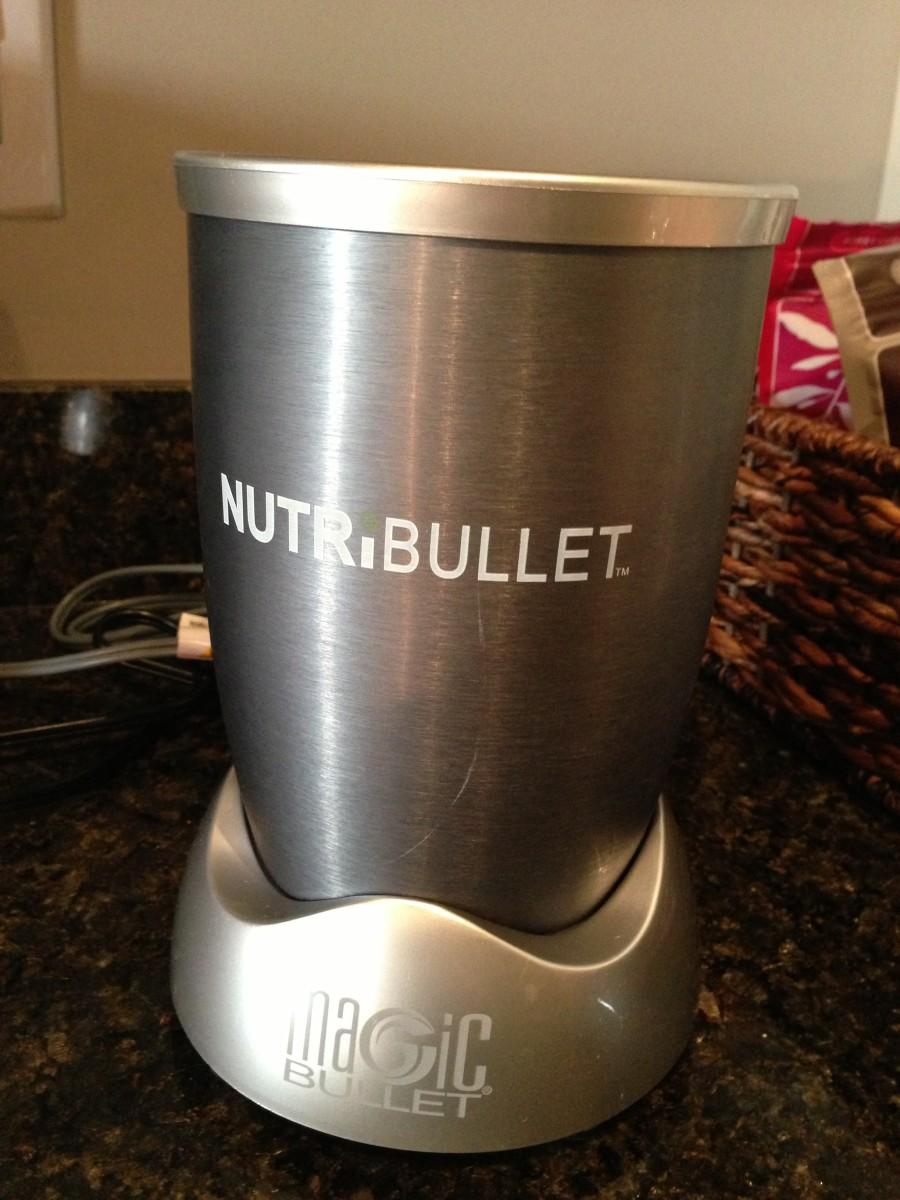 Step 1: Use a Nutribullet or smoothie maker