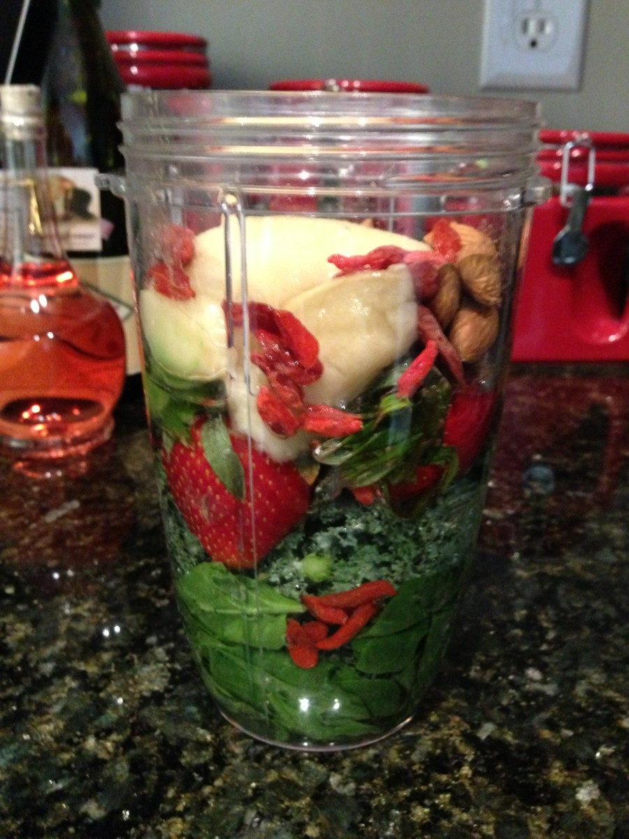Step 7: Load the Nutribullet to the Max line and add your water