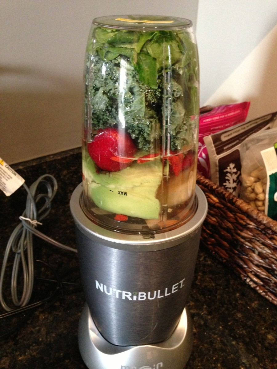 Step 8: Attach the Nutribullet to the power source and blend for at least 60 seconds