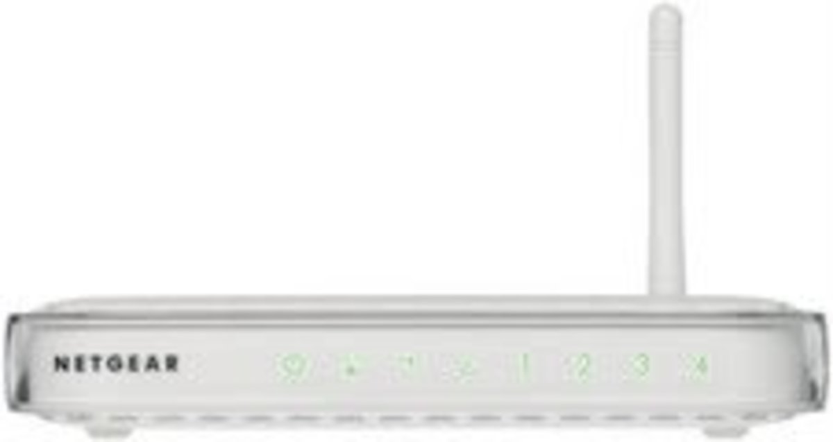 There are many different models of Netgear routers. This is one the most common models. Yours may look completely different.