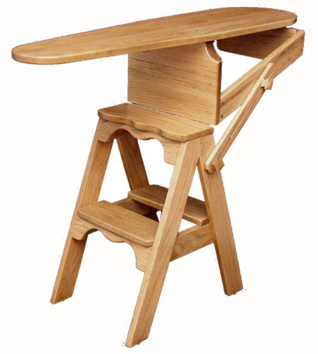 Reproduction bachelor ironing board chair