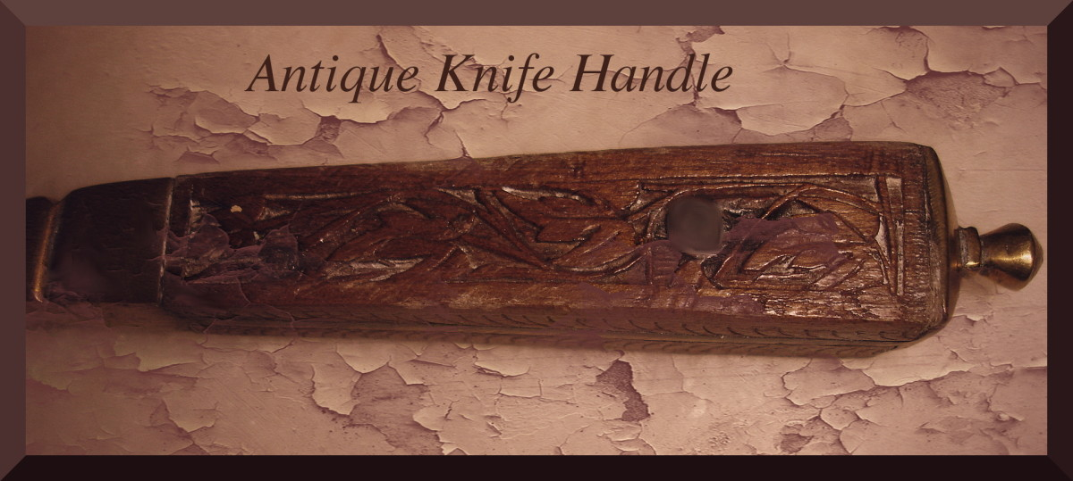 Wooden Knife Handle