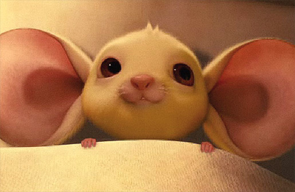 Despereaux the Mouse, big ears.