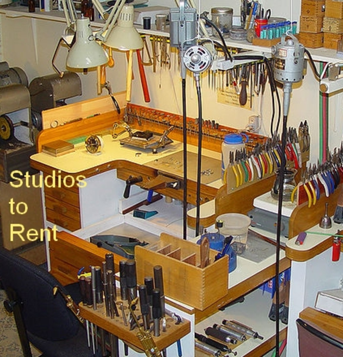 Jewellery Studios to Rent.   Source: Adapted by Author