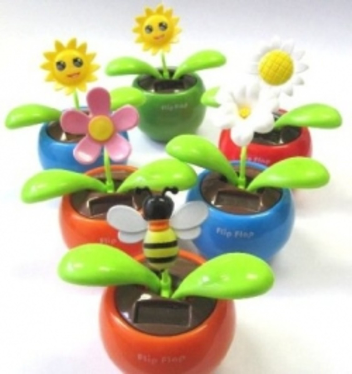 Dancing Flowers For Cars-Solar Powered Dashboard Novelties