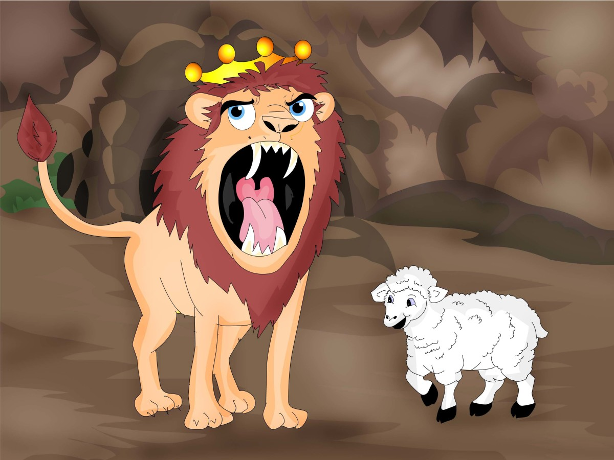 The lion with bad breath | Aesop's fables retold