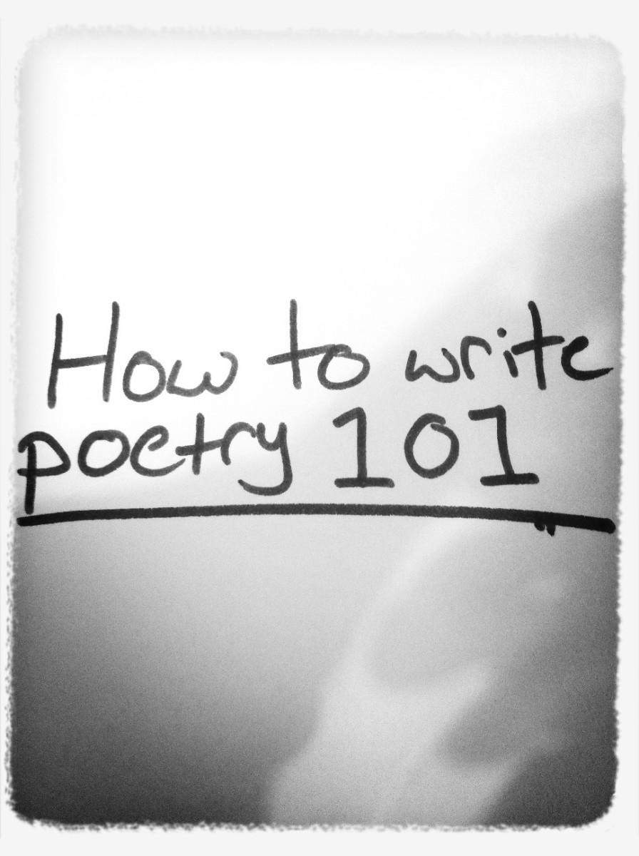 how-to-write-poetry-101