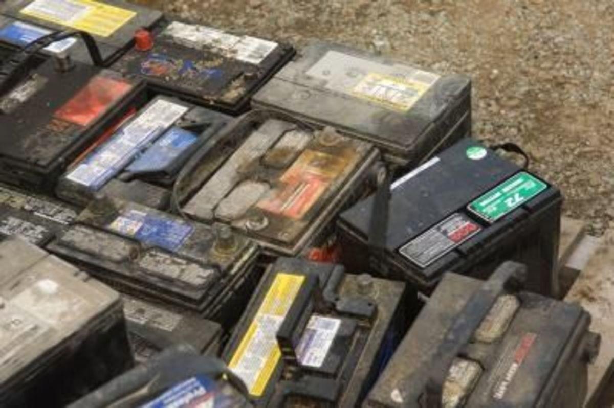 Bad battery graveyard