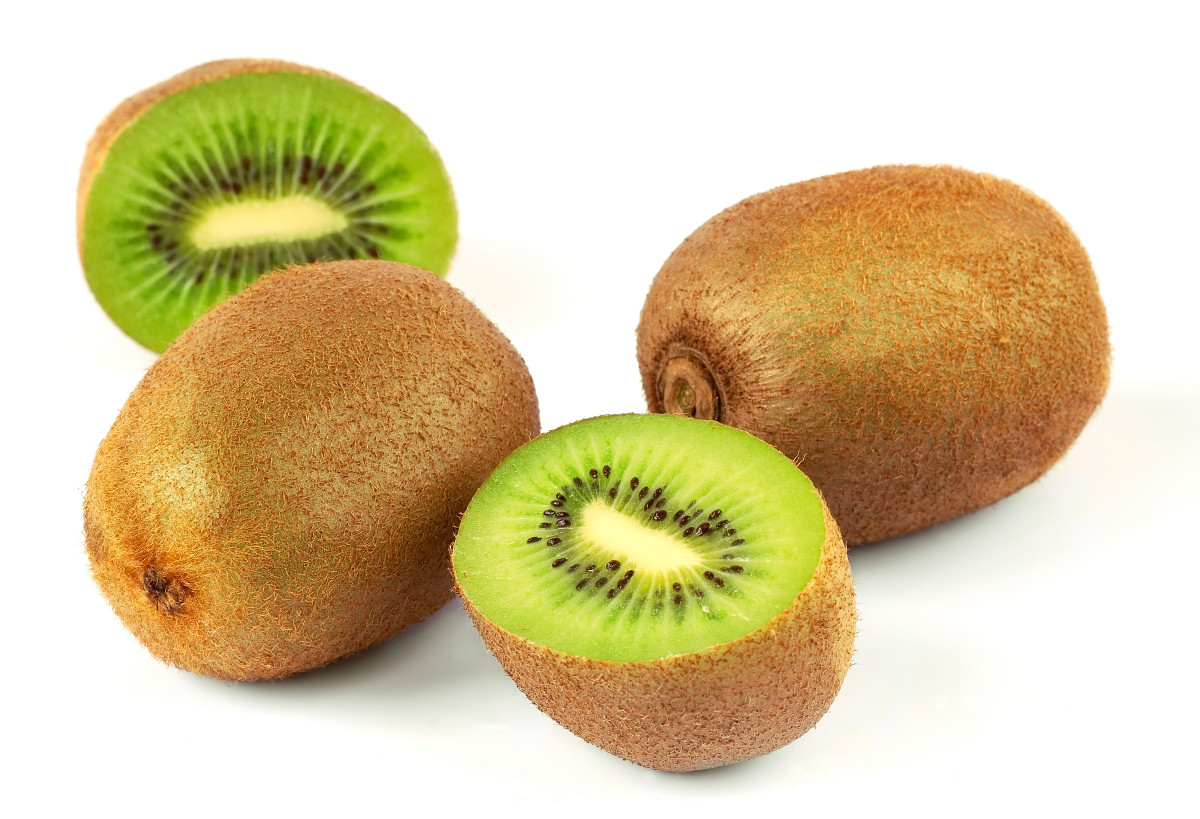 Fuzzy skinned kiwifruit (A. chinensis)