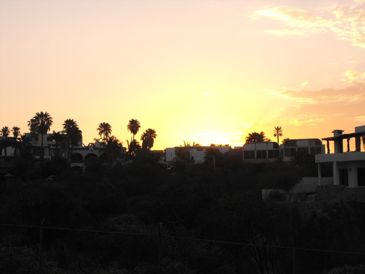 View from my back balcony.