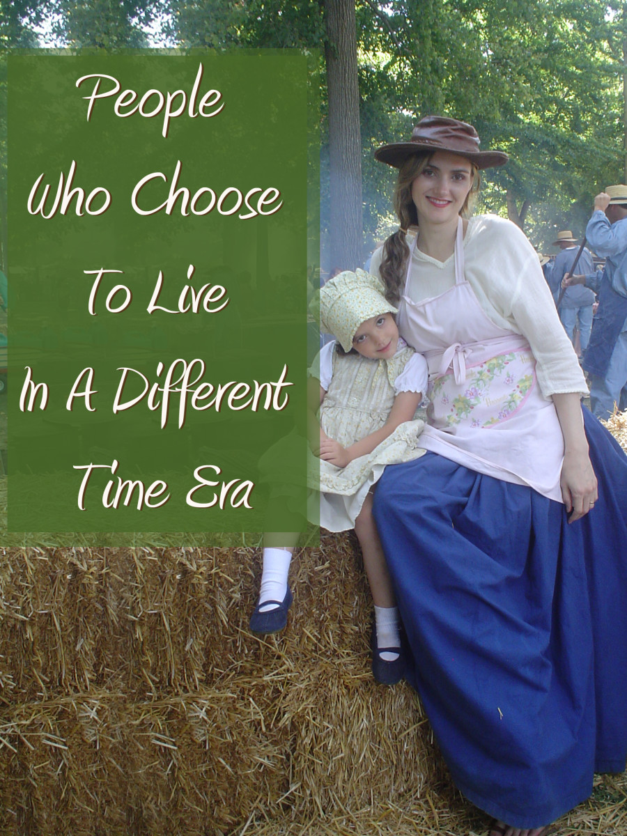 People Who Choose to Live in a Different Time Era-1950s, Pioneer, Victorian, Renaissance or 1980s