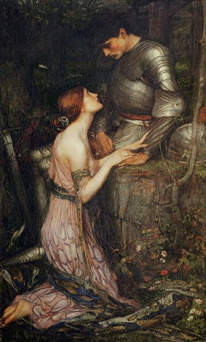 """Lamia"" by John William Waterhouse 1905"