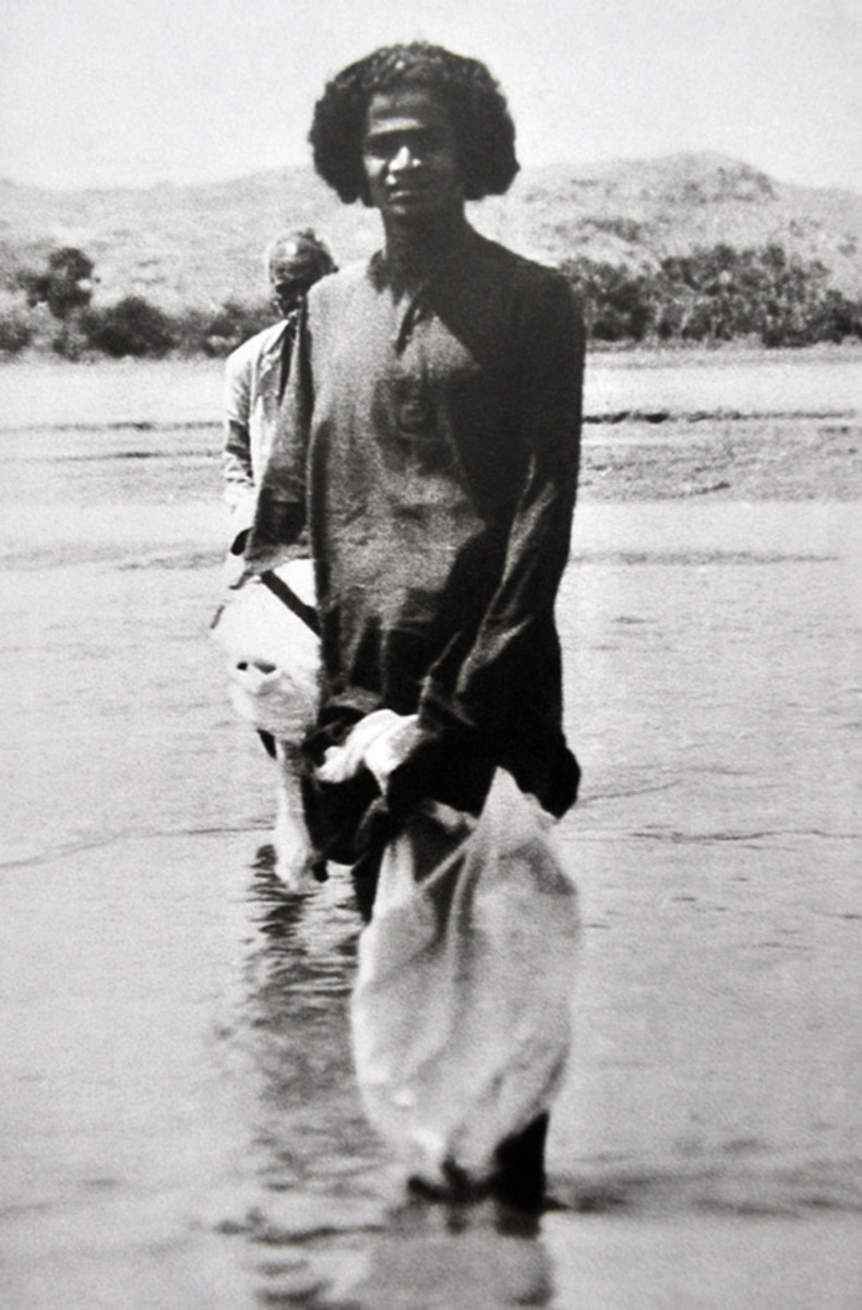 Swami was the first watchman, caretaker, PR officer and welcome committee of Puttaparthi. He would often cross the Chitravati river and welcome devotees with open arms.