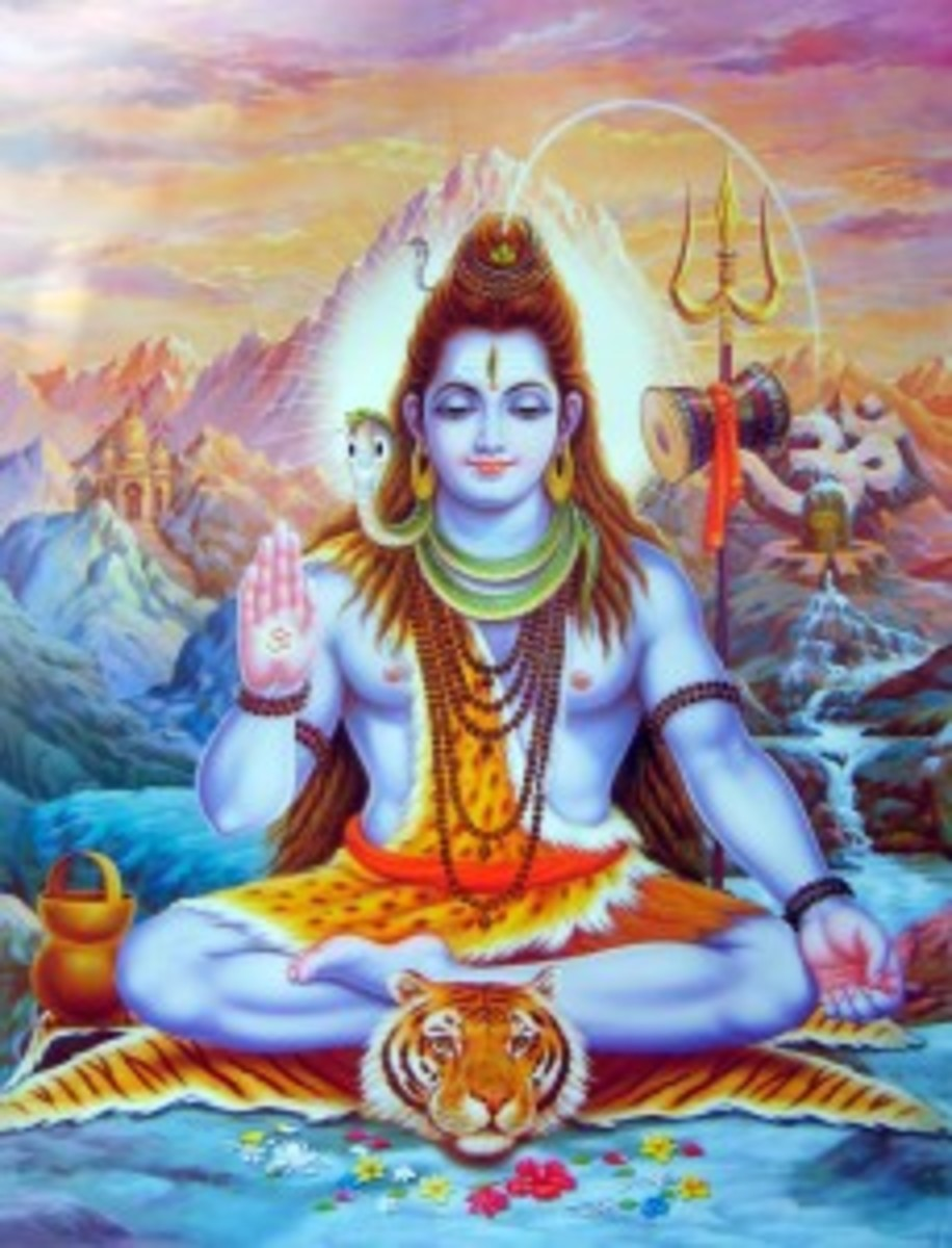 Shiva Mahayogin, one of his most famous depictions.