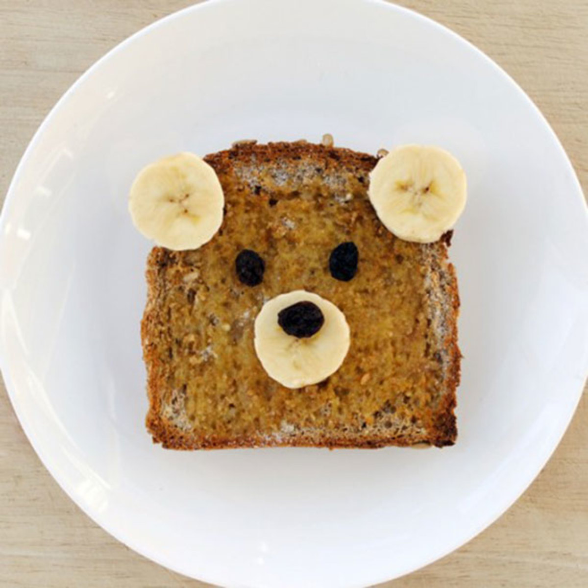 Peanut Butter and Banana Sandwich Bear