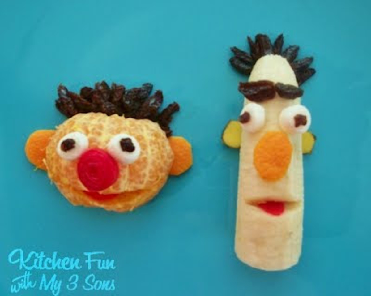Ernie and Bert Fruit Snacks