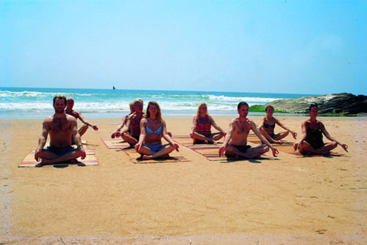 Performing Yoga in open air is very beneficial for mind and body