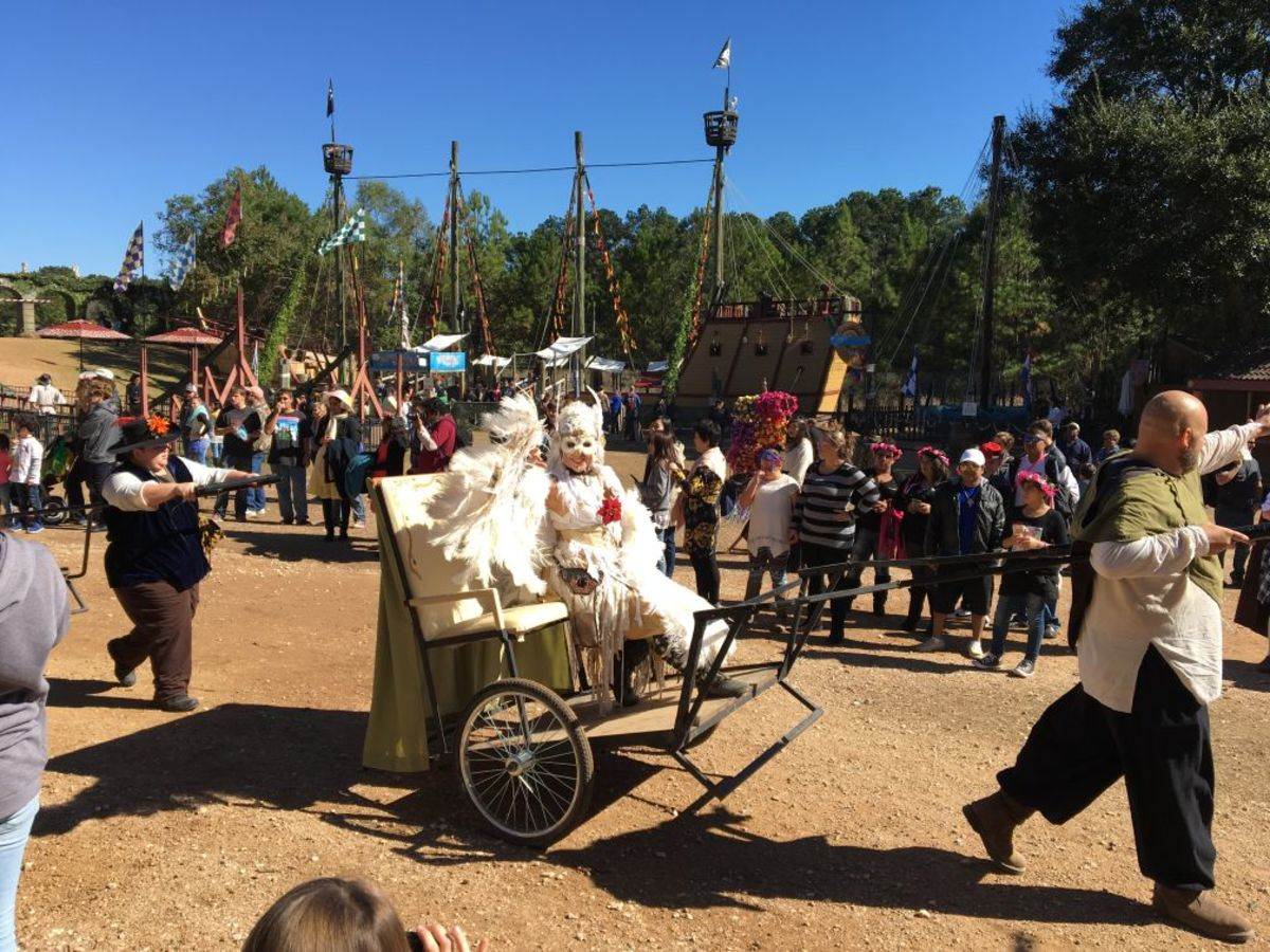 Visiting The Texas Renaissance Festival