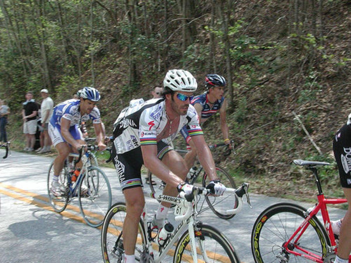 Mario Cipollini- Modern road cycling's most successful pure sprinter.