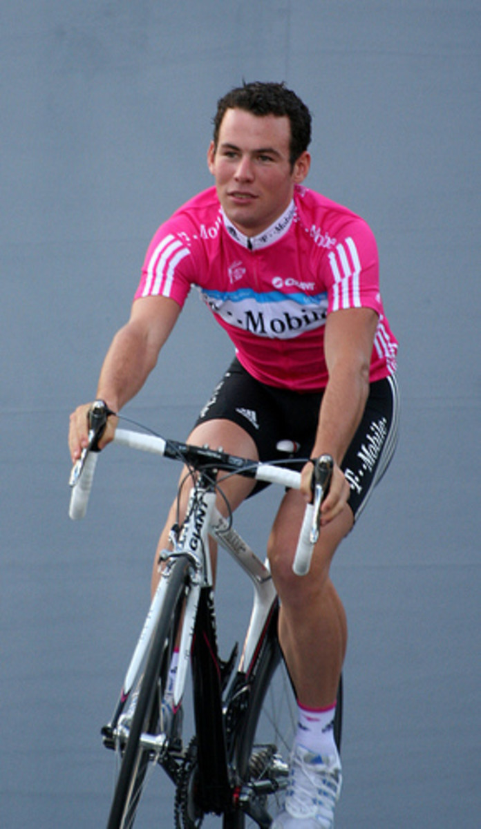Mark Cavendish in his early T Mobile Team days