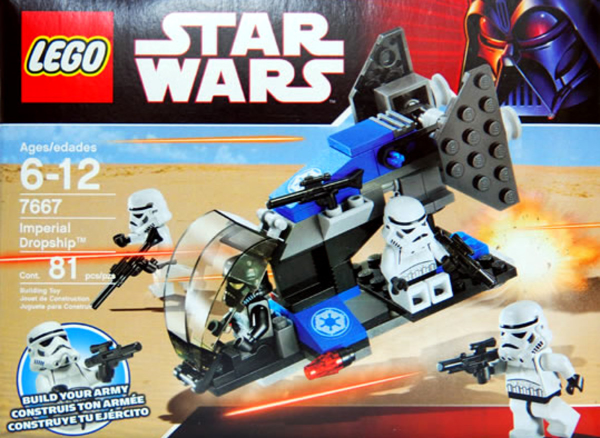 LEGO Star Wars Imperial Dropship 7667 Box
