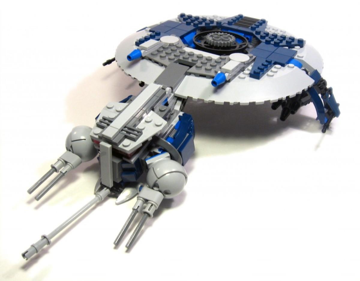 LEGO Star Wars Droid Gunship 7678 Assembled