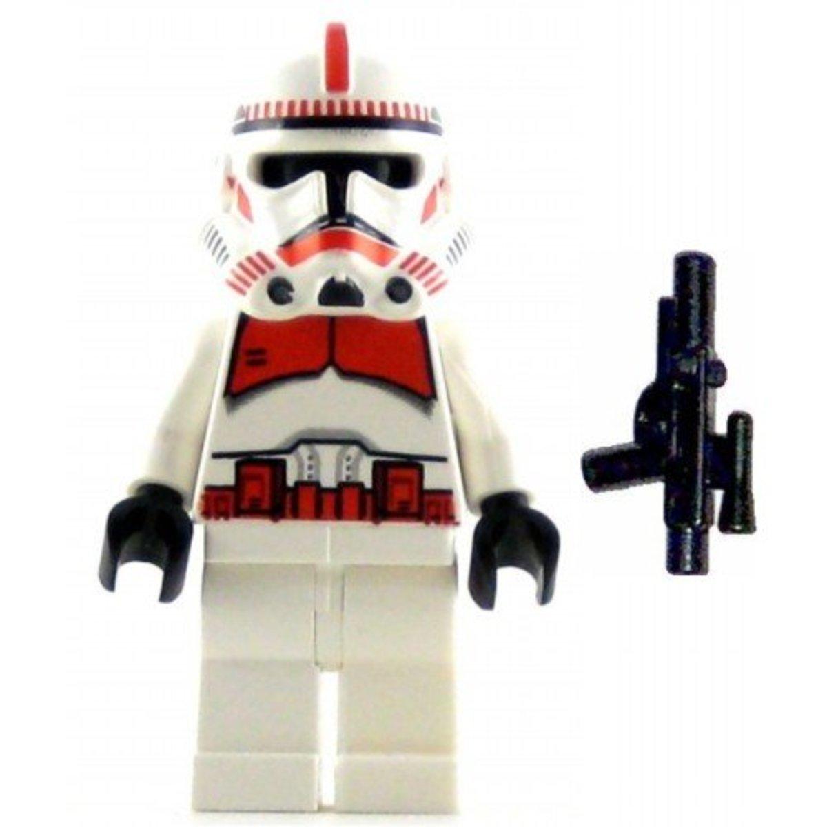 LEGO Star Wars AT-AP Walker 7671 Shock Trooper Minifigure