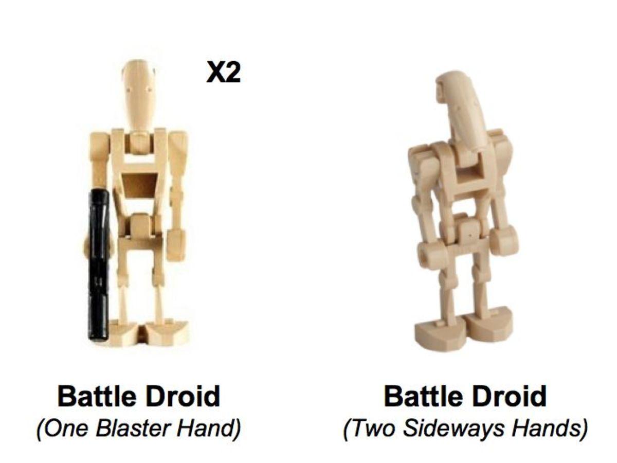 LEGO Star Wars Droid Gunship 7678 Minifigures