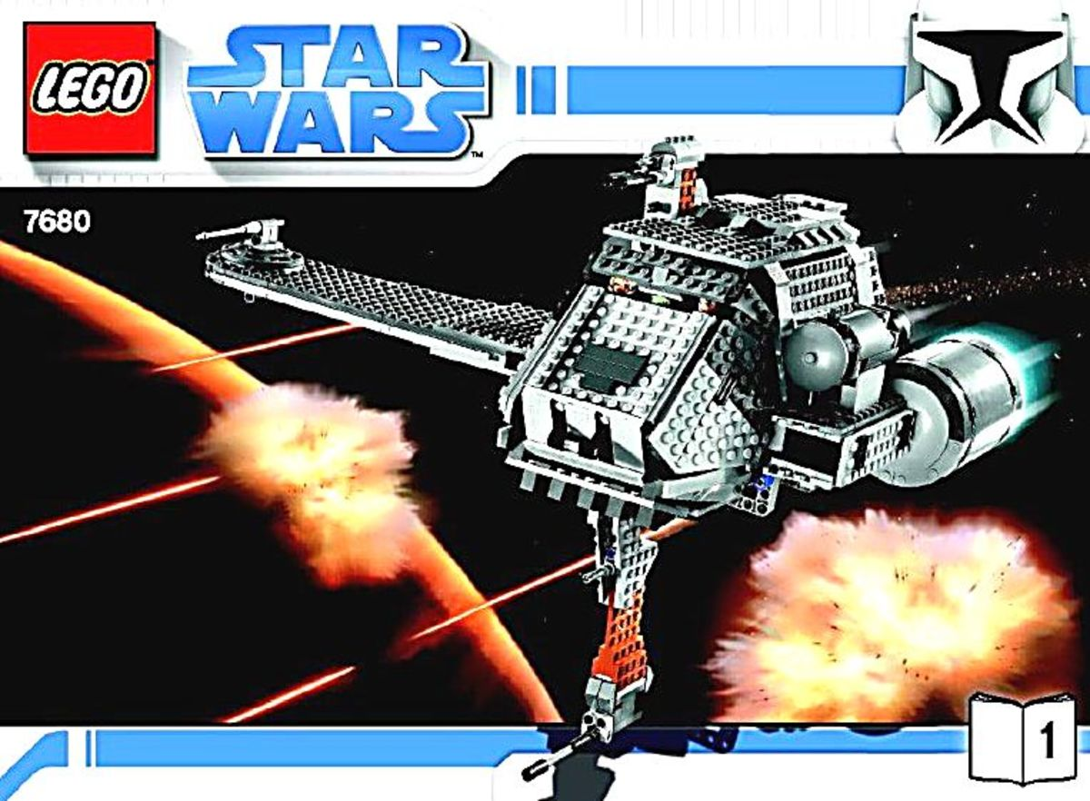 LEGO Star Wars The Twilight 7680 Box